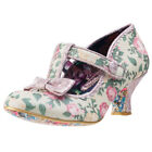 Irregular Choice Lazy River Womens Shoes Pink Floral New Shoes