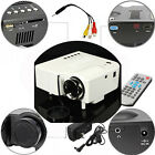 1080P HD LED Mini Projector Multimedia  Home Theater Cinema AV VGA SD USB HDMI