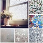 Static Cling Frosted Window Film Privacy Glass Door Vinyl Tint Various Sizes