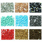 Pack of 50 Pellet Czech Glass Beads - Lots of Colours