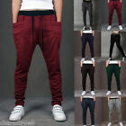 Mens Casual Sweatpants Jogger Dance Sportwear Harem Pants Slacks Trousers Baggy