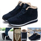 Winter Men Warm Plush High Top Casual Snow Boots Plus Size Lace Up Shoes Rapture