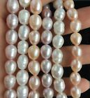 choose colors Jewelry making 1Strand Natural Freshwater Pearl Beads 8-9mm