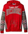 Forever Collectibles NFL Men's Tampa Bay Buccaneers Big Logo Hooded Sweater, Red