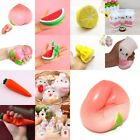 Kawaii Soft Fruits Squishy Squeeze Slow Rising Relieve Stress Fun Kid Toy Decor