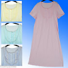 Marks & Spencer Traditional Nightdress Nightshirt Soft Feel UK Sizes 8-26