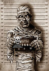 Mummy Mugshot by Marcus Jones Screaming Demons Monster Artwork Canvas Art Print