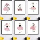 Fashion Girls Art Canvas Prints Printing Poster Wall Home Living Room Decor DIY