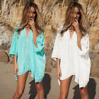 Womens Summer Beach Beachwear Swimwear Bikini Wear Cover Up Kaftan Ladies Dress!