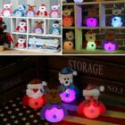 Christmas Tree Hanging Ornaments Decor LED Light Desk Doll Toy Festival Gifts