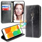 Premium Synthetic Leather Wallet Case for Apple iPhone 7 / 7+ Plus Card Stand