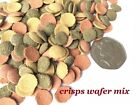 WAFER CRISPS MIX TROPICAL FISH SHRIMP SNAIL PLECO CORY FOOD FEED TABLETS CATFISH