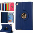 Luxury Stand Book Folio Leather Rotating 360 Degree Case Cover For Apple Ipad