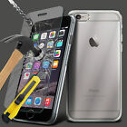 Transparent Clear Silicone Ultra Slim Gel Case And Glass Screen Protector