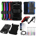 Phone Case For Tracfone ZTE Zmax Champ Holster Cover USB Charger Film Stylus