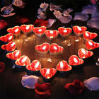 50 Sets Romantic Love Wedding Party Heart Shaped Scented Candles Home Decor Hot