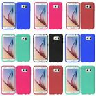 For Samsung Galaxy S6 New Ultra Thin Rugged Silicone Gel Skin Rubber Cover Case