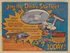 """STAR TREK 1976 Dinky Toys SPACE: 1999 = POSTER Not Comic Book 7 SIZES 19"""" - 36"""""""