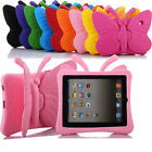 Kids Safe Cute Wings Shockproof EVA Foam Stand Handle Case Cover For iPad Tablet
