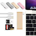 USB 3.0  5 in1 Type-C Adapter Charging Data Sync Card Reader Hub for MacBook Pro