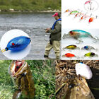 3D Simulation Plastic Soft Fish Frog Bait Floating Lure Tackle Hook Fishing Tool