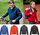 Regatta Kids Boys Girls Water Repellent Windproof Soft Shell Jacket AGES 3-12