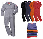 Portwest Bizweld Flame Retardant Coverall Overall Workwear Sizes: M L XL