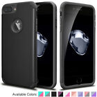 For iPhone 8 / 8 Plus Slim Case Hybrid Shockproof Rubber Armor Impact Hard Cover