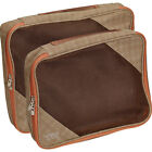 Lewis N. Clark 2-Pack Packing Cube Set 3 Colors Travel Organizer NEW