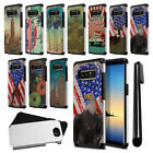 "For Samsung Galaxy Note 8 N950 6.3"" Vintage Design Bumper Protective Cover + Pen"