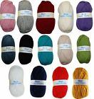 New 6 x Robin Super Chunky Knitting Wool Yarn 100g Choice Of Colours - FREE P&P