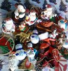 CHRISTMAS TREE ORNAMENTS - YOU PICK THE ONES YOU WANT - SOLD INDIVIDUALLY