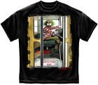 EVIL CLOWN SCHOOL BUS T-Shirt - Adult Sizes Brand New
