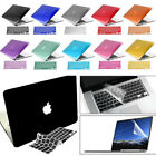 "Rubberized Hard Case+Keyboard Cover+LCD Film f MacBook Air 11"" Pro 13/15"" Retina"