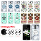 For LG K7 Tribute 5 LS675 MS330 Custom Personalized Monogram Letters Case Cover