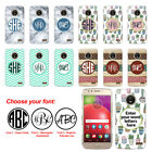 For Motorola Moto E4 XT1760 (International) Custom Monogram Letters Case Cover