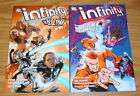 Infinity Inc TPB #1-2 VF/NM complete series - peter milligan - steel DC set lot