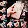 Jewelled Rhinestone Bling Crystal Diamond Soft Back Phone Case Cover & strap #K