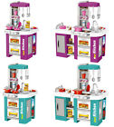 Childs Electronic Pretend Toy Kitchen Role Play Set Lights Sounds Running Water