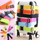 Adjustable Suitcase Bag Luggage Straps Travel Buckle Baggage Tie Down Belt Lock