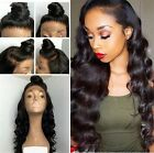 Hot Lady 100% Brazilian Human Hair Wave Lace Front Wig Full Lace Wigs Baby Hair