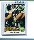 DAN FOUTS 1975 TOPPS ROOKIE CARD EX