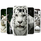 White Tigers Snap-on Hard Back Case Phone Cover for Nokia Mobile Phones