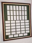 Mounting & Framing Kit for 50 Cigarette Cards (Non Standard Layout)
