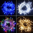 20/30/100/200/500LED MICRO WIRE STRING FAIRY PARTY XMAS WEDDING CHRISTMAS LIGHT