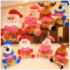 Cute Christmas Santa Candy Filler Storage Bottle Xmas Party Decor Box Best Gift