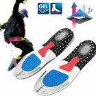Men Boy Gel Orthotic Sports  Support Deodorant Insoles Insert Shoe Pads Mats