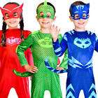 PJ Masks Kids Fancy Dress Animal Superhero Book Day Childrens Halloween Costumes