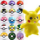 New Pokemon Pokeball Pop-up 7cm Ball Toy Action Figures With Pikachu Finger Game