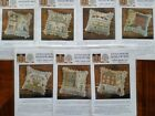 "Little House Needleworks Counted Cross Stitch ""Early Americans"" patterns"